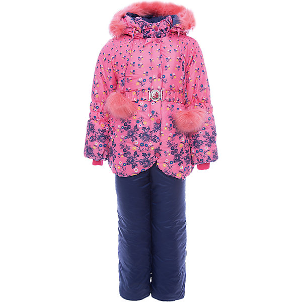 Купить Комплект: куртка и полукомбинезон Жанна OLDOS для девочки, Россия, розовый, Женский