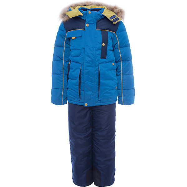 Комплект: куртка и полукомбинезон Арсен OLDOS для мальчикаВерхняя одежда<br>Характеристики товара:<br><br>• цвет: голубой<br>• комплектация: куртка и полукомбинезон<br>• состав ткани: 100% полиэстер, пропитка PU, Teflon<br>• подкладка: флис, полиэстер<br>• утеплитель: куртка - искусственный лебяжий пух, полукомбинезон - Hollofan 200 г/м2<br>• сезон: зима<br>• температурный режим: от -35 до 0<br>• застежка: молния<br>• капюшон: с мехом, съемный<br>• подстежка в комплекте<br>• страна бренда: Россия<br>• страна изготовитель: Россия<br><br>Этот зимний костюм для мальчика легко чистится благодаря специальной пропитке ткани. Подкладка зимнего комплекта комбинированная: флис и гладкий полиэстер. Так комплект для ребенка легче надевать. Зимний костюм для мальчика дополнен элементами, помогающими скорректировать размер подрост ребенка. <br><br>Комплект: куртка и полукомбинезон Арсен Oldos (Олдос) для мальчика можно купить в нашем интернет-магазине.<br>Ширина мм: 356; Глубина мм: 10; Высота мм: 245; Вес г: 519; Цвет: голубой; Возраст от месяцев: 36; Возраст до месяцев: 48; Пол: Мужской; Возраст: Детский; Размер: 104,134,122,116,110; SKU: 7016925;