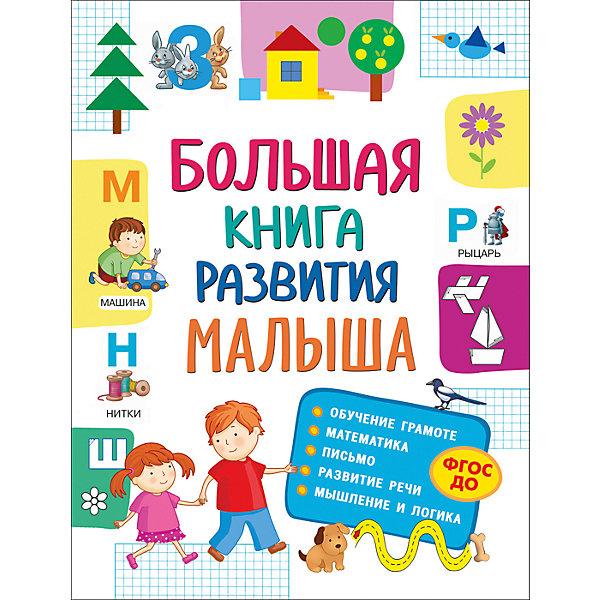 Росмэн Большая книга развития малыша раннее развитие росмэн большая книга тестов 4 5 лет