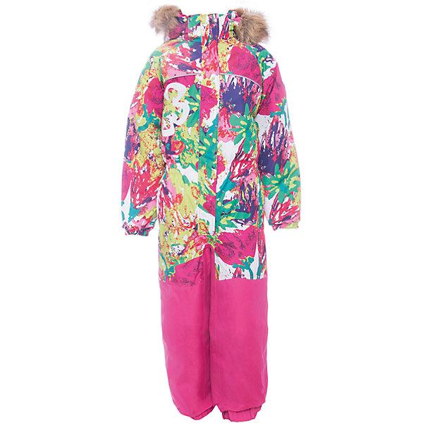 Комбинезон CHLOE 1 Huppa для девочкиВерхняя одежда<br>Характеристики товара:<br><br>• модель: Chloe 1;<br>• цвет: белый принт ;<br>• пол: девочка ;<br>• состав: 100% полиэстер;<br>• утеплитель: полиэстер, 300 гр.;<br>• подкладка: тафта/флис;<br>• сезон: зима;<br>• температурный режим: от -5 до - 30С;<br>• водонепроницаемость:10000 мм;<br>• воздухопроницаемость: 10000г/м2/24ч;<br>• водо- и ветронепроницаемый, дышащий и грязеотталкивающий материал;<br>• особенности модели: c рисунком, с мехом;<br>• капюшон для большего удобства крепится на кнопки и, при необходимости, отстегивается;<br>• искусственный мех на капюшоне съемный ;<br>• сиденье и нижний край брючины выполнены из очень прочной ткани Cordura;<br>• cидельный шов, внутренние и боковые швы проклеены и не пропускают влагу;<br>• светоотражающих элементов для безопасности ребенка;<br>• внутренний и боковые карманы застегиваются на молнию;<br>• манжеты брюк и рукавов эластичные, на резинках;<br>• съемные силиконовые штрипки;<br>• страна бренда: Финляндия;<br>• страна изготовитель: Эстония.<br><br>Комбинезон Chloe 1 для девочки водо и воздухонепроницаемый. Важный критерий при выборе комбинезона для девочки - это количество утеплителя, ведь малыши еще малоподвижны, поэтому комбинезон должен быть теплым. В модели Chloe 1 300 грамм утеплителя, которые обеспечат тепло и комфорт ребенку при температуре от -5 до -30 градусов. Подкладка — тафта/флис. <br><br>Функциональные элемент: капюшон отстегивается с помощью кнопок, мех отстегивается, все карманы на молнии, манжеты на резинке, съемные силиконовые штрипки, светоотражающие элементы.<br><br>Комбинезон  Chloe 1  для девочки Huppa (Хуппа) можно купить в нашем интернет-магазине.<br>Ширина мм: 356; Глубина мм: 10; Высота мм: 245; Вес г: 519; Цвет: розовый; Возраст от месяцев: 72; Возраст до месяцев: 84; Пол: Женский; Возраст: Детский; Размер: 134,128,116,110,104,98,92,122; SKU: 7024508;
