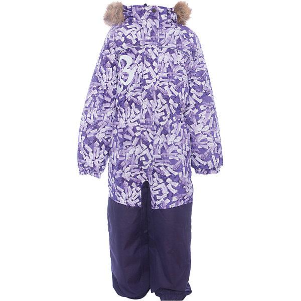 Комбинезон CHLOE 1 Huppa для девочкиВерхняя одежда<br>Характеристики товара:<br><br>• модель: Chloe 1;<br>• цвет: сиреневый,принт ;<br>• пол: девочка ;<br>• состав: 100% полиэстер;<br>• утеплитель: полиэстер, 300 гр.;<br>• подкладка: тафта/флис;<br>• сезон: зима;<br>• температурный режим: от -5 до - 30С;<br>• водонепроницаемость: 5000 мм вверх/10000 мм низ ;<br>• воздухопроницаемость: 5000 вверх/ 10000 низ г/м2/24ч;<br>• водо- и ветронепроницаемый, дышащий и грязеотталкивающий материал;<br>• особенности модели: c рисунком, с мехом;<br>• капюшон для большего удобства крепится на кнопки и, при необходимости, отстегивается;<br>• искусственный мех на капюшоне съемный ;<br>• сиденье и нижний край брючины выполнены из очень прочной ткани Cordura;<br>• cидельный шов, внутренние и боковые швы проклеены и не пропускают влагу;<br>• светоотражающих элементов для безопасности ребенка;<br>• внутренний и боковые карманы застегиваются на молнию;<br>• манжеты брюк и рукавов эластичные, на резинках;<br>• съемные силиконовые штрипки;<br>• страна бренда: Финляндия;<br>• страна изготовитель: Эстония.<br><br>Комбинезон Chloe 1 для девочки Водо и воздухонепроницаемый. Важный критерий при выборе комбинезона для девочки - это количество утеплителя, ведь малыши еще малоподвижны, поэтому комбинезон должен быть теплым. В модели Chloe 1 300 грамм утеплителя, которые обеспечат тепло и комфорт ребенку при температуре от -5 до -30 градусов. Подкладка — тафта/флис. <br><br>Функциональные элемент: капюшон отстегивается с помощью кнопок, мех отстегивается, все карманы на молнии, манжеты на резинке, съемные силиконовые штрипки, светоотражающие элементы.<br><br>Комбинезон  Chloe 1  для девочки Huppa (Хуппа) можно купить в нашем интернет-магазине.<br>Ширина мм: 356; Глубина мм: 10; Высота мм: 245; Вес г: 519; Цвет: лиловый; Возраст от месяцев: 18; Возраст до месяцев: 24; Пол: Женский; Возраст: Детский; Размер: 92,134,128,122,116,98,110,104; SKU: 7024535;