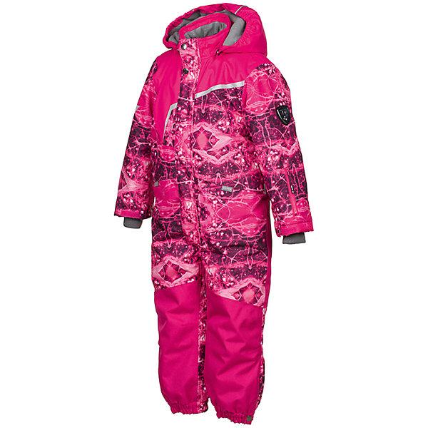 Комбинезон OWEN Huppa для девочкиВерхняя одежда<br>Характеристики товара:<br><br>• модель: Owen;<br>• состав: 100% полиэстер;<br>• утеплитель: полиэстер, 200 гр.;<br>• подкладка: теплоотражающая Huppa Tec, тафта, флис;<br>• сезон: зима;<br>• температурный режим: от -5 до - 30С;<br>• водонепроницаемость: 10000 мм  ;<br>• воздухопроницаемость: 10000 г/м2/24ч;<br>• водо- и ветронепроницаемый, дышащий и грязеотталкивающий материал;<br>• особенности модели: c рисунком;<br>• капюшон при необходимости отстегивается<br>• cидельный шов, внутренние и боковые швы проклеены и не пропускают влагу;<br>•  cиденье и нижний край брючины выполнены из очень прочной ткани Cordura;<br>• светоотражающих элементов для безопасности ребенка ;<br>• все карманы застегиваются на молнию;<br>• рукава регулируются по ширине, внутри есть дополнительный трикотажный манжет; <br>• манжеты брюк на резинках, с кнопками для изменения ширины<br>• съемные силиконовые штрипки;<br>• внутренняя регулировка обхвата талии;<br>• страна бренда: Финляндия;<br>• страна изготовитель: Эстония.<br><br>Зимний комбинезон Owen для мальчика бренда HUPPA влагонепроницаемый и дышащий. Материал с утеплителем 200 грамм подойдет на температуру от -5 до -30 градусов. Подкладка — теплоотражающая Huppa Tec, тафта, флис. Нижняя часть комбинезона выполнена из материала повышенной прочности Cordura. Для удобства надевания высокой обуви, низ штанин регулируется кнопкой. <br><br>Функциональные элементы: капюшон отстегивается с помощью кнопок, карманы на молнии, трикотажные манжеты,манжеты регулируются с помощью кнопки, утяжка на талии, подол штанин регулируется кнопкой, все швы проклеены, съемные силиконовые штрипки, все детали укреплены, светоотражающие элементы.<br><br>Зимний комбинезон Owen для мальчика бренда HUPPA  можно купить в нашем интернет-магазине.<br>Ширина мм: 356; Глубина мм: 10; Высота мм: 245; Вес г: 519; Цвет: фуксия; Возраст от месяцев: 72; Возраст до месяцев: 84; Пол: Женский; Возраст: Детский; Размер: 122,140,116,