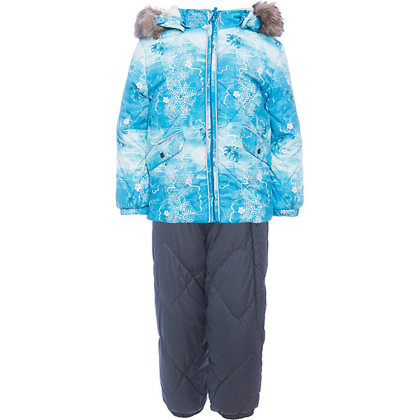 Купить Комплект Huppa Noelle 1: куртка и полукомбинезон, Эстония, голубой, 80, 104, 86, 92, 98, Женский