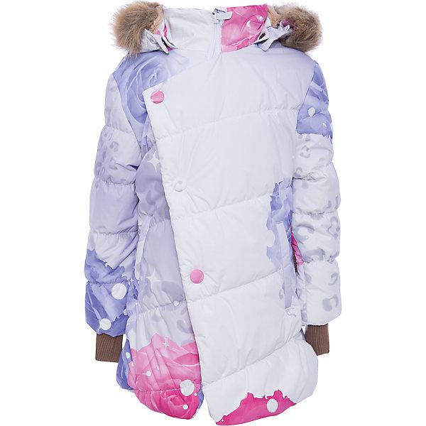 Куртка ROSA Huppa для девочкиЗимние куртки<br>Характеристики товара:<br><br>• модель: Rosa;<br>• состав: 100% полиэстер;<br>• утеплитель: полиэстер,300 гр.;<br>• подкладка: Teddy Fur, тафта,полиэстер;<br>• сезон: зима;<br>• температурный режим: от -5 до - 30С;<br>• водонепроницаемость: 5000 мм;<br>• воздухопроницаемость: 5000 г/м2/24ч;<br>• особенности модели: с рисунком,с мехом на капюшоне;<br>• защитная планка молнии на кнопках;<br>• защита подбородка от защемления;<br>• мягкая меховая подкладка;<br>• капюшон отстегивается;<br>• искусственный мех на капюшоне съемный;<br>• два врезных кармана на молнии;<br>• светоотражающие элементы для безопасности ребенка;<br>• трикотажные манжеты; <br>• страна бренда: Финляндия;<br>• страна изготовитель: Эстония.<br><br>Зимняя куртка Rosa  для девочки изготовлена из водо и ветронепроницаемого, грязеотталкивающего материала. В куртке Rosa  300 грамм утеплителя, которые обеспечат тепло и комфорт ребенку при температуре от -5 до -30 градусов.Подкладка —Teddy Fur,тафта.<br><br>Функциональные элементы: капюшон отстегивается с помощью кнопок, мех отстегивается, защитная планка молнии на кнопках, защита подбородка от защемления, мягкая меховая подкладка, карманы на молнии, трикотажные манжеты, светоотражающие элементы. <br><br>Куртку Rosa для девочки бренда HUPPA  можно купить в нашем интернет-магазине.<br>Ширина мм: 356; Глубина мм: 10; Высота мм: 245; Вес г: 519; Цвет: белый; Возраст от месяцев: 36; Возраст до месяцев: 48; Пол: Женский; Возраст: Детский; Размер: 104,110,158,152,146,140,134,128,122,116,98; SKU: 7024958;