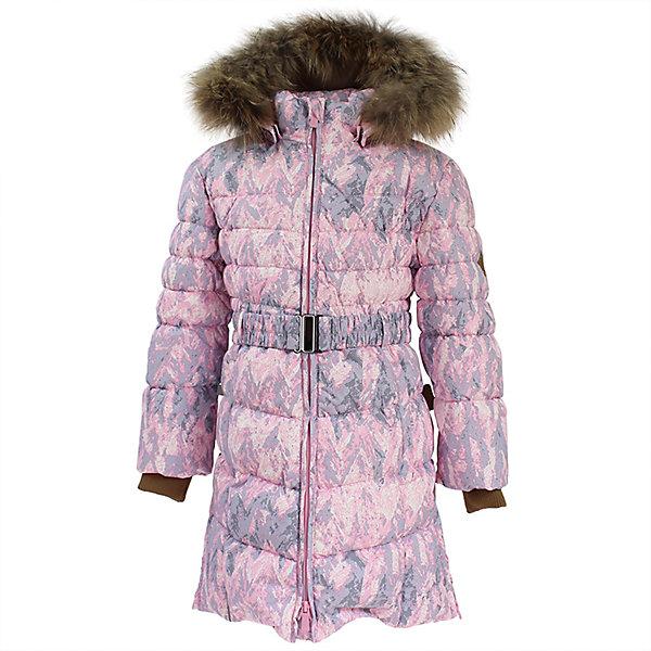 Пальто YASMINE Huppa для девочкиВерхняя одежда<br>Характеристики товара:<br><br>• модель: Yasmine;<br>• цвет: светло - розовый принт;<br>• пол: девочка;<br>• состав: 100% полиэстер;<br>• утеплитель: 50% пух, 50% перо.;<br>• подкладка: тафта,полиэстер;<br>• сезон: зима;<br>• температурный режим: от - 5 до - 30С;<br>• водонепроницаемость: 5000 мм;<br>• воздухопроницаемость: 5000 г/м2/24ч;<br>• влагоустойчивая и дышащая ткань;<br>• двухсторонняя молния;<br>• дополнительная корректировка на талиив виде пояса;<br>• безопасный капюшон при необходимости, отстегивается;<br>• искусственный мех на капюшоне съемный;<br>• низ рукавов дополнен эластичными манжетами;<br>• внутренний и боковые карманы застегиваются на молнию;<br>• светоотражающие детали для безопасности ребенка;<br>• страна бренда: Финляндия;<br>• страна изготовитель: Эстония.<br><br>Приталенное девичье пальто Yasmine средней длины в равной степени удачно смотрится и со школьным гардеробом, и с нарядами в стиле casual. <br><br>Экологически чистый, натуральный утеплитель (пух/перо) делает модель по-настоящему тёплой, безопасной, практичной. Снаружи изделие покрыто влагостойкой, ветроустойчивой тканью с хорошими дышащими «свойствами».<br><br>Функциональные элементы: капюшон отстегивается с помощью кнопок, отстегивающийся искусственный мех, прочная декоративная раздвоенная молния, защита подбородка от защемления, карманы застегиваются на молнию, дополнительная корректировка на талиив виде пояса,низ рукавов дополнен эластичными манжетами, светоотражающие элементы. <br><br>Пальто Yasmine для девочки бренда HUPPA  можно купить в нашем интернет-магазине.<br>Ширина мм: 356; Глубина мм: 10; Высота мм: 245; Вес г: 519; Цвет: розовый; Возраст от месяцев: 96; Возраст до месяцев: 108; Пол: Женский; Возраст: Детский; Размер: 134,170,122,128,140,146,152,158,164,104,110,116; SKU: 7025304;