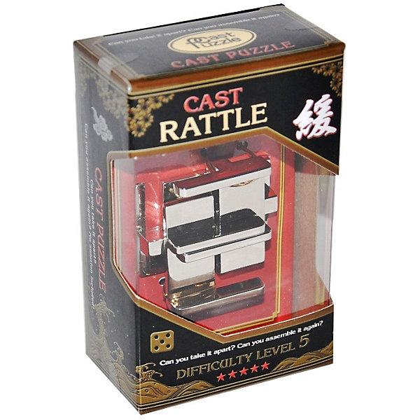 Фотография товара головоломка Крепость, Hanayama Cast Puzzle (7025980)