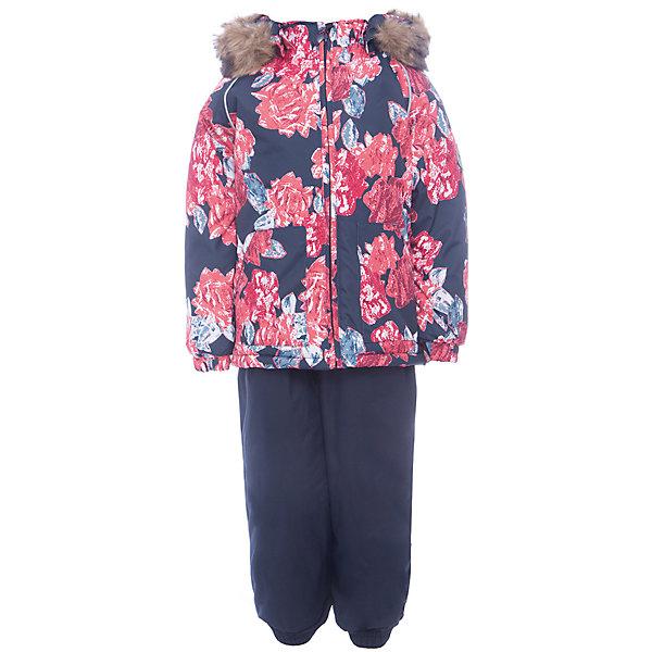 Комплект: куртка и брюки AVERY Huppa для девочкиКомплекты<br>Характеристика товара:<br><br>• цвет: синий<br>• температурный режим: от -0 до-30;<br>• утеплитель: куртка:300 грамм, брюки:160 грамм(100% полиэстер);<br>• подкладка: 100% хлопок;<br>• воздухопроницаемость: 5 000 мм куртка / 10 000 мм брюки;<br>• водонепроницаемость:  5 000 мм куртка / 10 000 мм брюки;<br>• застежка: молния;<br>• меховая опушка из искуственного меха;<br>• шаговый шов – проклеен;<br>• капюшон съемный;<br>• подтяжки на полукомбинезоне – резинки;<br>• светоотражающие детали;<br>• производитель: HUPPA (Эстония)<br><br>Красивый зимний комплект AVERY для детей младшего возраста. Легкая, но очень теплая куртка из мягкой мембранной ткани не содержит лишних деталей. В модели 300 грамм утеплителя, а значит, вы можете быть уверены, что ваш малыш не замерзнет на прогулке в морозную погоду, даже если будет двигаться не слишком активно. Комплект для малышей AVERY благодаря простым манжетам на резинке и удобной молнии легко надевать и застегивать. Капюшон с меховой опушкой сделан в форме забавного колпачка и при желании отстегивается. <br><br>Практичный однотонный полукомбинезон темного цвета выполнен из более прочной мембраны и скроен без внутренних швов, для лучшей защиты от истирания и попадания влаги. Задний шов проклеен, также для дополнительной защиты от влаги. Манжеты по низу брюк и тканевые штрипки на ботинки надежно фиксируют брюки и защищают от попадания снега. На костюмах AVERY светоотражающие элементы делают вашего ребенка более заметным на улице, даже в условиях плохой видимости и в темное время суток.<br><br>Комплект для малышей AVERY можно купить в нашем интернет-магазине.<br>Ширина мм: 356; Глубина мм: 10; Высота мм: 245; Вес г: 519; Цвет: синий; Возраст от месяцев: 12; Возраст до месяцев: 15; Пол: Женский; Возраст: Детский; Размер: 80,104,98,92,86; SKU: 7026970;