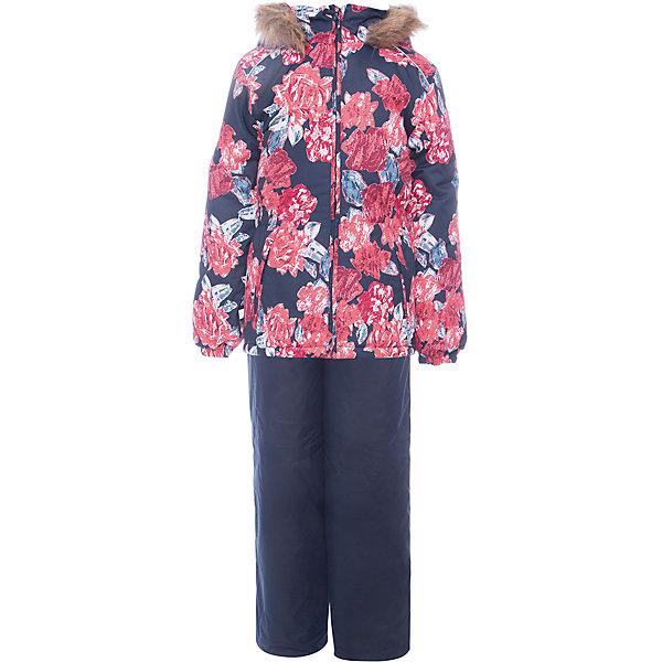 Huppa Комплект: куртка и брюки WONDER Huppa для девочки комплект верхней одежды для девочки huppa wonder цвет темно синий темно серый 41950030 82086 размер 92