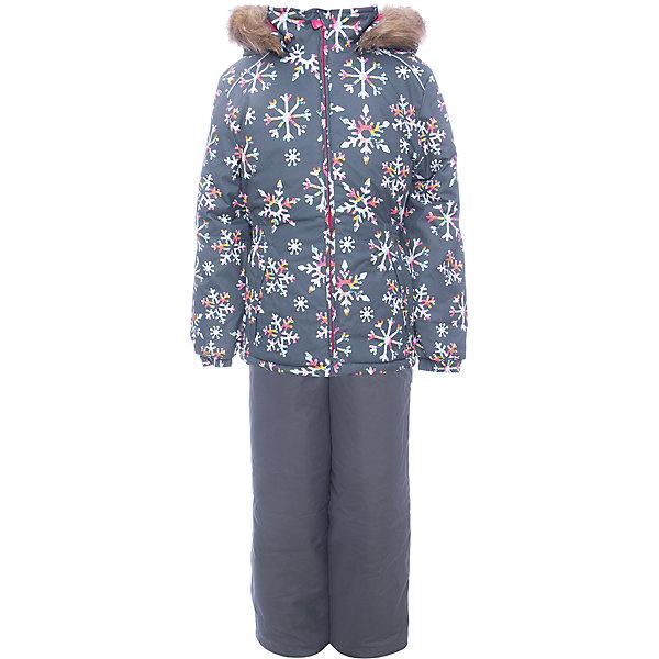 Комплект: куртка и брюки WONDER Huppa для девочкиКомплекты<br>Характеристики товара:<br><br>• цвет: серый;<br>• пол: девочка;<br>• состав: 100% полиэстер;<br>• утеплитель: 300 гр куртка / 160гр полукомбинезон;<br>• подкладка: тафта, флис;<br>• сезон: зима;<br>• температурный режим: от -5 до - 30С;<br>• водонепроницаемость: 10000 мм ;<br>• воздухопроницаемость: 10000 г/м2/24ч;<br>• особенности модели: c рисунком; с мехом на капюшоне;<br>• сидельный шов проклеен и не пропускает влагу;<br>• манжеты рукавов эластичные, на резинках;<br>• низ брюк затягивается на шнурок с фиксатором;<br>• внутренние снегозащитные манжеты на штанинах;<br>• полукомбинезон с высокой грудкой, внутренние швы отсутствуют;<br>• эластичные подтяжки регулируются по длине;<br>• безопасный капюшон крепится на кнопки и, при необходимости, отстегивается;<br>• мех на капюшоне не съемный;<br>• светоотражающие элементы для безопасности ребенка;<br>• страна бренда: Финляндия;<br>• страна изготовитель: Эстония.<br><br>Зимний комплект Хуппа – превосходный наряд для современной девочки на осенне-зимний период. <br><br>Комплект Wonder состоит из куртки и полукомбинезона. Обе составляющие комплекта снабжены вшитыми эластичными поясками-резинками, обеспечивающими безупречную посадку одежды по фигуре. Комплект отличается повышенной комфортностью. Внутри его обрамляет мягкая тафта. Внутренняя поверхность манжет и воротника отделана флисом. Капюшон оторочен пушистым искусственным мехом. В брючинах спрятана снегозащита. У полукомбинезона отсутствуют внутренние швы. Для лучшей герметизации полукомбинезона основные швы выполнены проклеенными.<br><br>Зимний комплект Wonder для девочки фирмы HUPPA  можно купить в нашем интернет-магазине.<br>Ширина мм: 356; Глубина мм: 10; Высота мм: 245; Вес г: 519; Цвет: серый; Возраст от месяцев: 48; Возраст до месяцев: 60; Пол: Женский; Возраст: Детский; Размер: 110,134,128,122,116,104,98,92,140; SKU: 7027108;