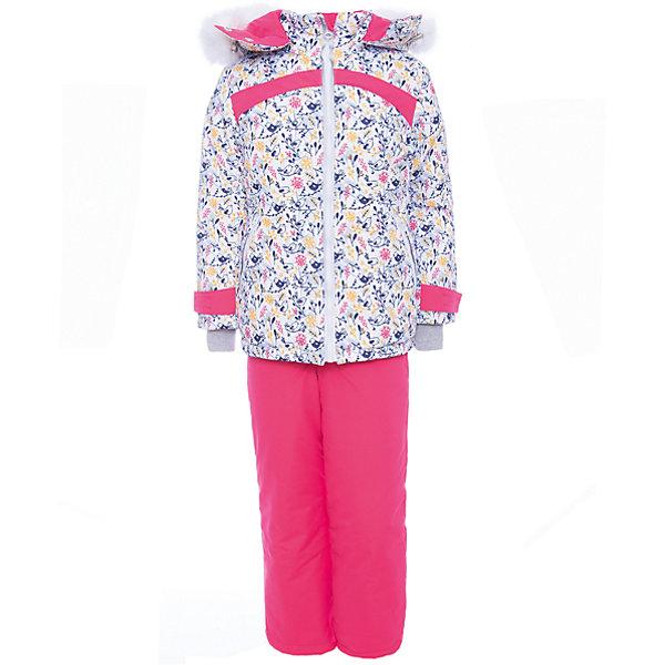 Комплект: куртка и полукомбенизон Синичка Batik для девочкиВерхняя одежда<br>Характеристики товара:<br><br>• цвет: белый, розовый<br>• комплектация: куртка и полукомбинезон <br>• состав ткани: таслан<br>• подкладка: поларфлис<br>• утеплитель: слайтекс 300 (3 слоя)<br>• сезон: зима<br>• мембранное покрытие<br>• температурный режим: от -35 до 0<br>• водонепроницаемость: 5000 мм <br>• паропроницаемость: 5000 г/м2<br>• плотность утеплителя: 300г/м2<br>• застежка: молния<br>• капюшон: с мехом, отстегивается<br>• встроенный термодатчик<br>• страна бренда: Россия<br>• страна изготовитель: Россия<br><br>Теплый мембранный комплект Batik для девочки сделан легкого, но теплого материала. Зимний комплект для ребенка отличается стильным дизайном. Непромокаемый и непродуваемый верх детской зимней куртки и полукомбинезона обеспечит тепло. Подкладка детского комплекта для зимы приятная на ощупь.<br><br>Комплект: куртка и полукомбинезон Синичка Batik (Батик) для девочки можно купить в нашем интернет-магазине.<br>Ширина мм: 356; Глубина мм: 10; Высота мм: 245; Вес г: 519; Цвет: розовый/белый; Возраст от месяцев: 48; Возраст до месяцев: 60; Пол: Женский; Возраст: Детский; Размер: 110,134,128,122,116; SKU: 7027928;