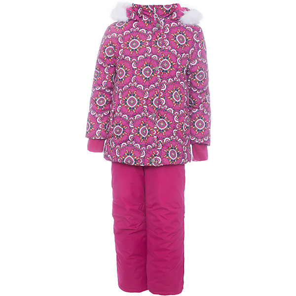 Batik Комплект: куртка и полукомбенизон Дарина Batik для девочки цена