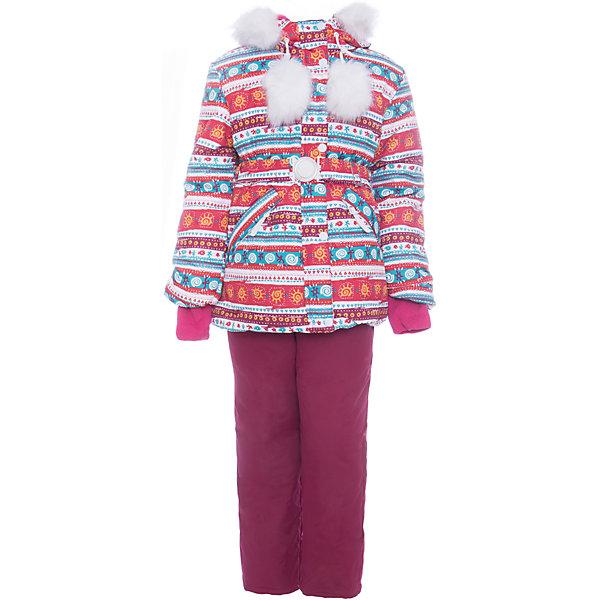 Batik Комплект: куртка и полукомбенизон Майя Batik для девочки batik batik халат махровый розовый