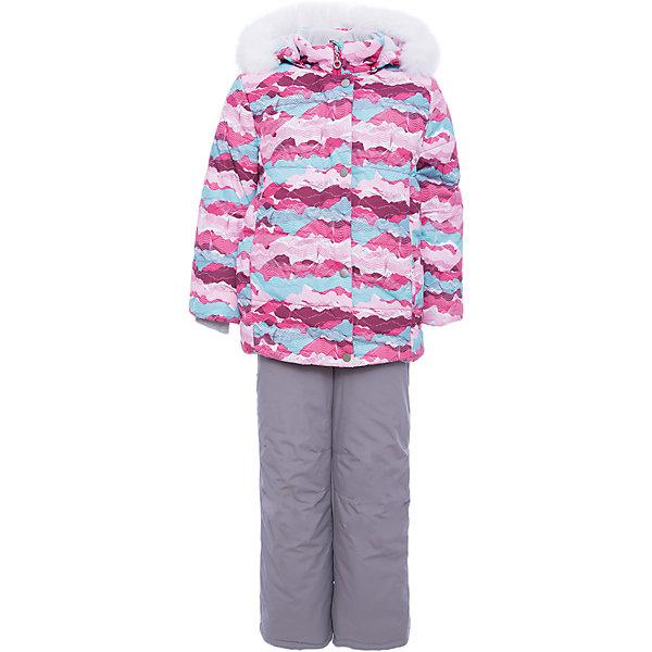 Комплект: куртка и полукомбенизон Регина Batik для девочкиВерхняя одежда<br>Характеристики товара:<br><br>• цвет: розовый<br>• комплектация: куртка и полукомбинезон <br>• состав ткани: таслан<br>• подкладка: поларфлис<br>• утеплитель: слайтекс, синтепон <br>• сезон: зима<br>• мембранное покрытие<br>• температурный режим: от -35 до 0<br>• водонепроницаемость: 5000 мм <br>• паропроницаемость: 5000 г/м2<br>• плотность утеплителя: куртка - 350 г/м2, полукомбинезон - 200 г/м2<br>• застежка: молния<br>• капюшон: с мехом, отстегивается<br>• встроенный термодатчик<br>• страна бренда: Россия<br>• страна изготовитель: Россия<br><br>Высокотехнологичный мембранный материал детского комплекте защитит от холода и ветра. Мягкая подкладка детского комплекта для зимы приятна на ощупь. Этот мембранный комплект для девочки дополнен снегозащитными манжетами внутри рукавов и брючин. Зимний комплект подходит и для морозов и сырости.<br><br>Комплект: куртка и полукомбинезон Регина Batik (Батик) для девочки можно купить в нашем интернет-магазине.<br>Ширина мм: 356; Глубина мм: 10; Высота мм: 245; Вес г: 519; Цвет: розовый; Возраст от месяцев: 60; Возраст до месяцев: 72; Пол: Женский; Возраст: Детский; Размер: 116,110,104,122; SKU: 7028224;