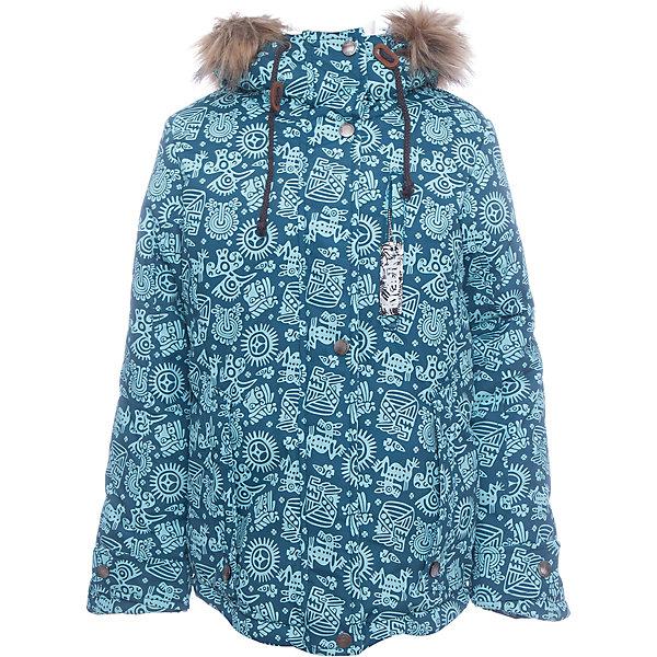 Batik Куртка Мэй Batik для девочки лонгслив для девочки batik цвет голубой ds0133 11 размер 92