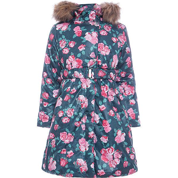 Batik Пальто Варя Batik для девочки batik batik халат махровый розовый