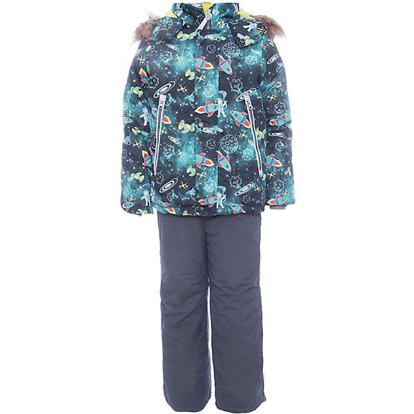Batik Комплект: куртка и полукомбенизон Космос Batik для мальчика цена