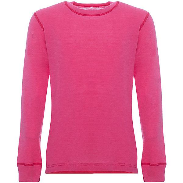 Футболка Lamba villoФлис и термобелье<br>Характеристики товара:<br><br>• цвет: розовый;<br>• состав ткани: 100% шерсть мериноса;<br>• температурный режим: от +10° С до -25° С;<br>• швы плоские, не натирают и не мешают движению;<br>• сезон: зима;<br>• материал впитывает влагу и сразу выводит наружу;<br>• анатомический крой;<br>• не мешает под одеждой;<br>• страна изготовитель: Латвия.<br><br>Футболка с длинным рукавом Lamba villo - это удобная одежда, которая обеспечит комфортную терморегуляцию тела и на улице, и в помещении. <br><br>Футболка с длинным рукавом выполнена из шерсти мериноса (австралийской тонкорунной овцы), которая обладает гипоаллергенными свойствами, поэтому не вызывает раздражения, даже если надета на голое тело.<br><br>Футболку с длинным рукавом Lamba villo можно купить в нашем магазине.<br>Ширина мм: 199; Глубина мм: 10; Высота мм: 161; Вес г: 151; Цвет: розовый; Возраст от месяцев: 120; Возраст до месяцев: 132; Пол: Унисекс; Возраст: Детский; Размер: 140/146,164/170,152/158; SKU: 7031619;