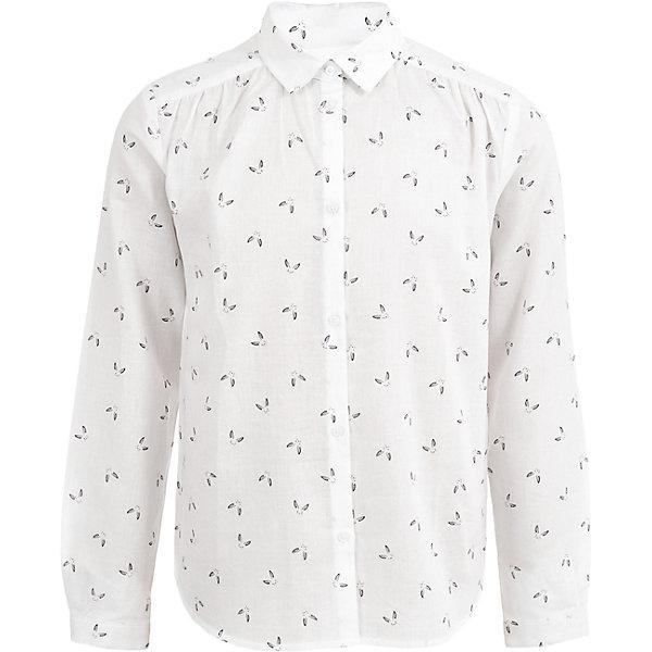 Купить со скидкой Рубашка Button Blue