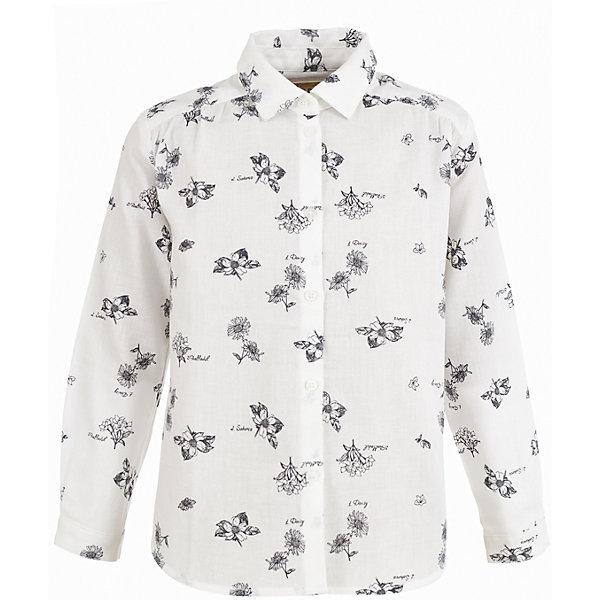 Купить Блузка Button Blue для девочки, Китай, белый, Женский