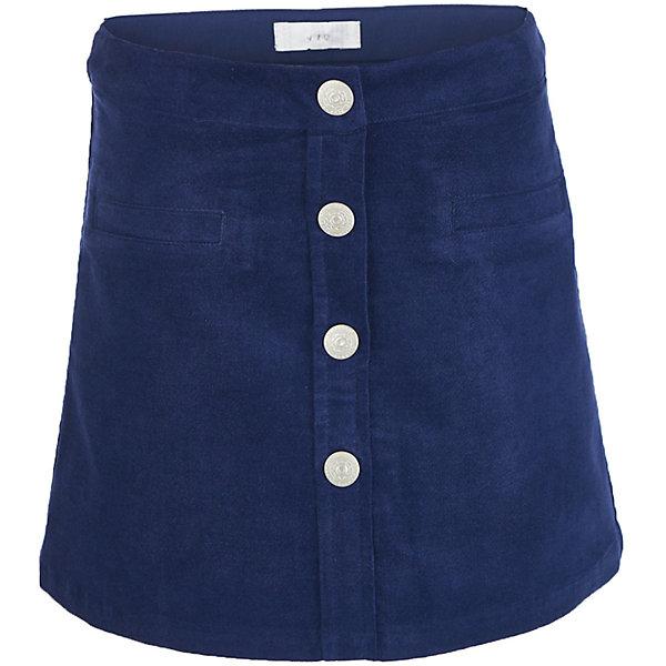 Юбка Button Blue для девочкиЮбки<br>Характеристики товара:<br><br>• цвет: синий;<br>• состав: 98% хлопок, 2% эластан;<br>• сезон: демисезон;<br>• особенности: велюровая;<br>• трапециевидный силуэт;<br>• застежка: пуговицы;<br>• внутренняя регулировка талии;<br>• карманы-обманки;<br>• страна бренда: Россия;<br>• страна изготовитель: Китай.<br><br>Велюровая юбка для девочки. Юбка застегивается на пуговицы спереди, внутри резинка с пуговицей для регулировки обхвата талии. Два кармана-обманки спереди.<br><br>Юбку Button Blue (Баттон Блю) можно купить в нашем интернет-магазине.<br>Ширина мм: 207; Глубина мм: 10; Высота мм: 189; Вес г: 183; Цвет: темно-синий; Возраст от месяцев: 24; Возраст до месяцев: 36; Пол: Женский; Возраст: Детский; Размер: 152,146,140,134,158,128,122,116,110,104,98; SKU: 7037733;