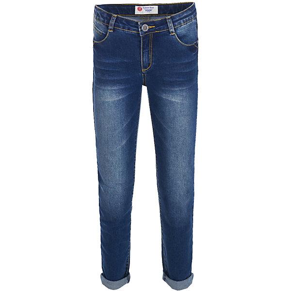 Button Blue Джинсы Button Blue для девочки full circle джинсы с потертостями