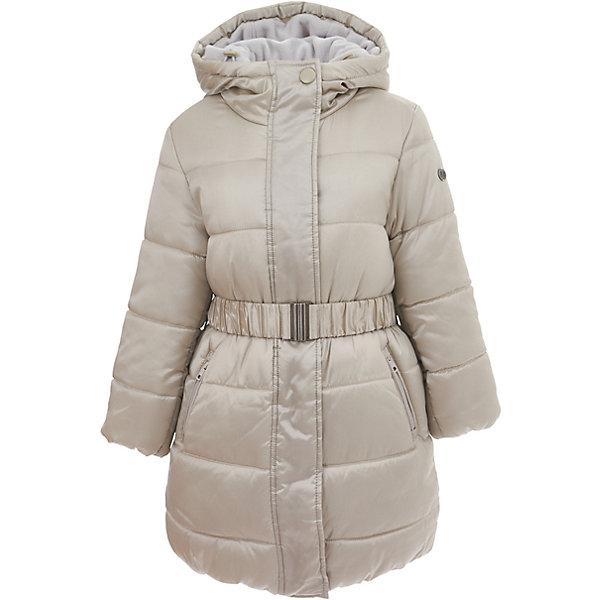 Куртка Button Blue для девочкиВерхняя одежда<br>Характеристики товара:<br><br>• цвет: бежевый;<br>• состав: 55% полиэстер, 45% нейлон;<br>• подкладка: 100% хлопок, 100% полиэстер;<br>• утеплитель: 100% полиэстер;<br>• сезон: демисезон;<br>• температурный режим: от +7 до -10С;<br>• застежка: молния по всей длине;<br>• защита подбородка от защемления;<br>• дополнительная планка на кнопках;<br>• капюшон не отстегивается;<br>• внутренняя часть капюшона: мягкий теплый флис;<br>• эластичные манжеты рукавов;<br>• съемный дополнительный пояс;<br>• два кармана на молнии;<br>• страна бренда: Россия;<br>• страна изготовитель: Китай.<br><br>Демисезонное полупальто с капюшоном для девочки. Полупальто застегивается на молнию с защитой подбородка от защемления. Полупальто с дополнительным поясом, который можно снять. Внутренняя часть капюшона выполнена из мягкого теплого флиса.<br><br>Полупальто Button Blue (Баттон Блю) можно купить в нашем интернет-магазине.<br>Ширина мм: 356; Глубина мм: 10; Высота мм: 245; Вес г: 519; Цвет: светло-серый; Возраст от месяцев: 24; Возраст до месяцев: 36; Пол: Женский; Возраст: Детский; Размер: 98,158,152,146,140,134,128,122,116,110,104; SKU: 7037957;