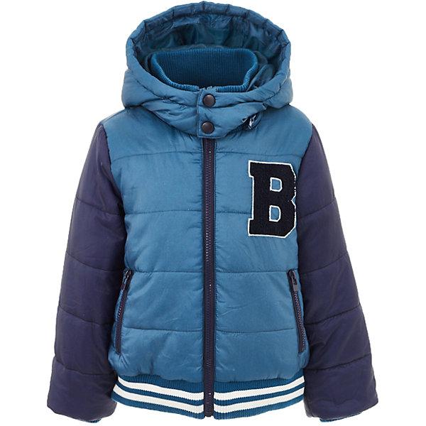 Куртка Button Blue для мальчикаВерхняя одежда<br>Характеристики товара:<br><br>• цвет: синий;<br>• состав: 100% полиэстер;<br>• подкладка: 100% полиэстер, 100% хлопок;<br>• утеплитель: 100% полиэстер;<br>• сезон: демисезон;<br>• температурный режим: от +5 до -10С;<br>• застежка: молния по всей длине;<br>• защита подбородка от защемления;<br>• капюшон не отстегивается;<br>• капюшон дополнен шнурком-утяжкой со стопером;<br>• высокий эластичный трикотажный воротник;<br>• эластичные трикотажные манжеты и низ изделия;<br>• карманы на молнии;<br>• страна бренда: Россия;<br>• страна изготовитель: Китай.<br><br>Демисезонная куртка с капюшоном для мальчика. Куртка застегивается на молнию по всей длине. У куртки эластичные манжеты и низ изделия, высокий трикотажный, эластичный воротник защитит шею от ветра и холода. Капюшон имеет шнурок-утяжку со стопером.<br><br>Куртку Button Blue (Баттон Блю) можно купить в нашем интернет-магазине.<br>Ширина мм: 356; Глубина мм: 10; Высота мм: 245; Вес г: 519; Цвет: бирюзовый; Возраст от месяцев: 84; Возраст до месяцев: 96; Пол: Мужской; Возраст: Детский; Размер: 128,122,116,110,104,98,158,152,146,140,134; SKU: 7038879;