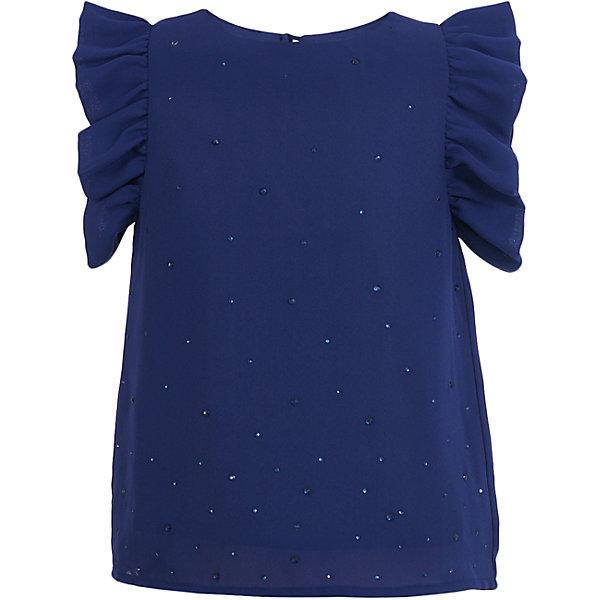 Купить Блузка Button Blue для девочки, Китай, синий, Женский