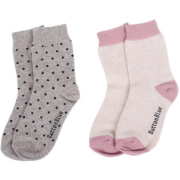 Button Blue Носки Button Blue 2 пары для девочки колготки носки гетры bossa nova носки для девочки 2 пары 1846