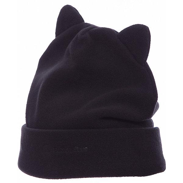 Button Blue Флисовая шапка Button Blue для девочки шапка salmo маска флисовая с прорезями 303322 xl