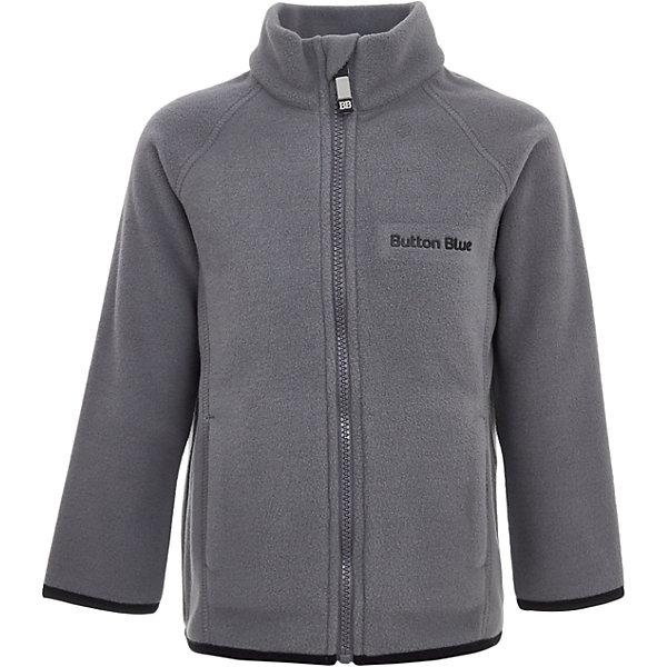 Куртка Button Blue для мальчикаФлис и термобелье<br>Характеристики товара:<br><br>• цвет: серый;<br>• состав: 100% полиэстер, флис;<br>• сезон: демисезон, зима;<br>• застежка: молния с защитой подбородка;<br>• теплый, мягкий флис;<br>• мягкая эластичная резинка на манжетах;<br>• два кармана;<br>• страна бренда: Россия;<br>• страна изготовитель: Китай.<br><br>Флисовая толстовка на молнии для мальчика. Кофта застегивается на молнию с защитой подбородка от защемления. Спереди два кармана.<br><br>Кофту Button Blue (Баттон Блю) можно купить в нашем интернет-магазине.<br>Ширина мм: 356; Глубина мм: 10; Высота мм: 245; Вес г: 519; Цвет: темно-серый; Возраст от месяцев: 24; Возраст до месяцев: 36; Пол: Мужской; Возраст: Детский; Размер: 98,158,152,146,140,134,128,122,116,110,104; SKU: 7039566;