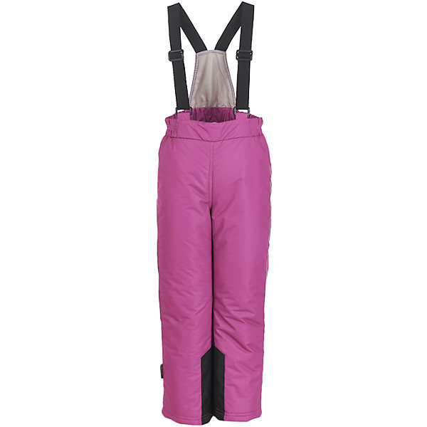Брюки Button Blue для девочкиВерхняя одежда<br>Характеристики товара:<br><br>• цвет: розовый;<br>• состав: 100% полиэстер;<br>• подкладка: 100% полиэстер;<br>• утеплитель: 100% полиэстер;;<br>• сезон: зима;<br>• температурный режим: от +5 до -20С;<br>• застежка: ширинка на молнии и пуговица;<br>• гладкая подкладка из полиэстера;<br>• водонепроницаемые;<br>• высокая спинка;<br>• эластичные регулируемые подтяжки;<br>• подтяжки не съемные;<br>• снегозащитные манжеты внизу шатнин;<br>• страна бренда: Россия;<br>• страна изготовитель: Китай.<br><br>Параметры изделия:<br>• Объем талии: 62 см<br>• Длина внутреннего шва брюк: 71  см<br>• Длина внешнего шва брюк: 92 см<br>• Ширина брючины внизу: 22 см<br><br>Детский полукомбинезон из мембранной плащевки – основа зимнего прогулочного гардероба ребенка. Основная задача этого изделия - водостойкость и сохранение тепла, и этот полукомбинезон с ней справится наилучшим образом. <br><br>Брюки Button Blue (Баттон Блю) можно купить в нашем интернет-магазине.