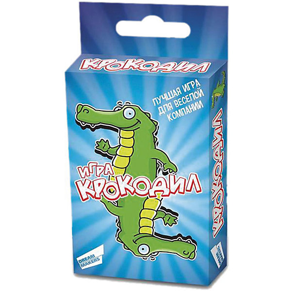 Настольная игра Крокодил Mini Dream makersНастольные игры для всей семьи<br>Характеристики товара:<br><br>• возраст: от 7 лет;<br>• в комплекте: 45 игровых карточек,правила игры;<br>• состав игрушки: картон, бумага;<br>• вес: 100 гр.;<br>• размер упаковки: 9,4х6,3х1,8 см;<br>• упаковка: картонная коробка;<br><br>«Крокодил» - это лучший способ весело провести время. Она не имеет ограничений по возрасту – в нее охотно играют, как дети, так и взрослые. Задача игроков - при помощи пантомимы объяснять значение слов. Вас ожидают уникальные задания разного уровня сложности. Играть можно как поодиночке, так и командами.<br><br>Детскую настольную игру «Крокодил. Mini» можно купить в нашем интернет-магазине.<br>Ширина мм: 94; Глубина мм: 63; Высота мм: 18; Вес г: 100; Возраст от месяцев: 84; Возраст до месяцев: 2147483647; Пол: Унисекс; Возраст: Детский; SKU: 7040256;
