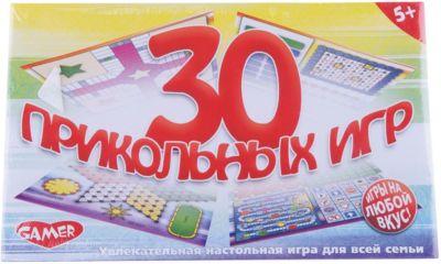 Настольная игра 30 Прикольных игр Dream makers