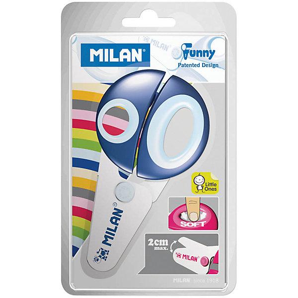 Ножницы детские 12,2 см Milan Болотное купить инструменты в интернет магазине