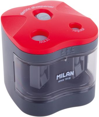 Точилка электрическая  Maxi  Regular  Milan, 2 отверстия, артикул:7044157 - Чертежные принадлежности