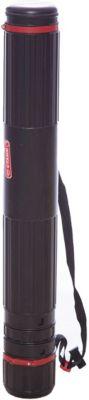Тубус А0 Стамм, телескопический на ремне, черный, артикул:7044159 - Чертежные принадлежности