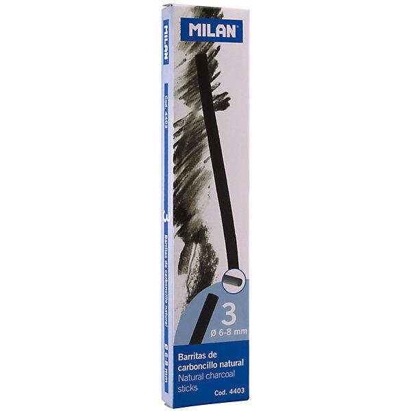 Milan натуральный 6-8мм, набор 3 шт Milan