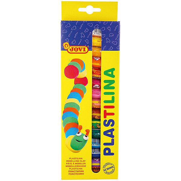 Пластилин 15 цветов 225гJOVIПластилин<br>Характеристики:<br><br>• вес бруска:15г.;<br>• количество: 15шт.; <br>• упаковка: пластик;<br>• размер упаковки: 25,5х8,5х1,5см.;<br>• вес упаковки: 249г.;<br>• для детей в возрасте: от 2лет.;<br>• страна производитель: Испания.<br><br>Набор цветного пластилина для лепки, бренда Jovi (Джови) станет отличным приобретением для маленьких школьников. Он создан из качественных, экологически чистых материалов, что очень важно для детских товаров.<br><br> Набор отлично подойдёт для детишек, любящих создавать поделки своими руками. В него входят пятнадцать разноцветных брусков. Цвета очень яркие и насыщенные. Пластилин создан на растительной основе и совершенно безопасен для детей. Пользоваться им очень удобно, так как легко принимает нужную форму и высыхая на воздухе не ломается. Упаковкой служит картонная коробка с подвесом.<br>Использование набора поможет детям развивать цветовое восприятие, мелкую моторику, чувство самовыражения, фантазию и аккуратность.<br><br> <br>Пластилин для лепки можно купить в нашем интернет-магазине.<br>Ширина мм: 255; Глубина мм: 85; Высота мм: 15; Вес г: 249; Возраст от месяцев: 24; Возраст до месяцев: 2147483647; Пол: Унисекс; Возраст: Детский; SKU: 7044289;