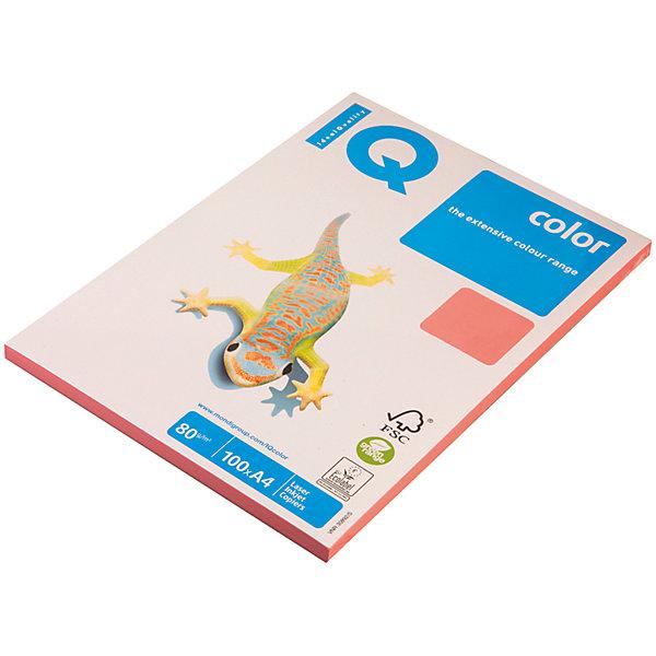 iQ Бумага IQ Color neon А4 100 листов IQ, розовый неон