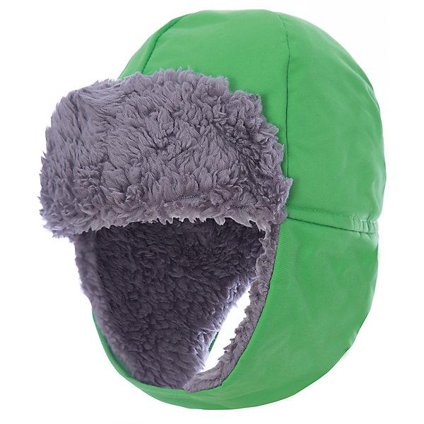 Шапка BIGGLES DIDRIKSONSГоловные уборы<br>Характеристики товара:<br><br>• цвет: зеленый<br>• состав ткани: 100% полиамид<br>• подкладка: 100% полиэстер (искусственный мех)<br>• сезон: зима<br>• мембранная<br>• температурный режим: от -20 до 0<br>• влагонепроницаемость: 6000 мм <br>• утеплитель: 60 г/м<br>• пропаянные швы<br>• непродуваемая<br>• застежка: липучка<br>• страна бренда: Швеция<br>• страна изготовитель: Китай<br><br>Яркая непромокаемая шапка для ребенка отличается модным дизайном. Прочный непродуваемый материал этой детской шапки обеспечит защиту от холода и влаги. Теплая шапка плотно держатся на голове благодаря ремешку на подбородке. Простая в уходе шапка сделана из легкого, но прочного материала. <br><br>Шапку Biggles Didriksons (Дидриксонс) можно купить в нашем интернет-магазине.<br>Ширина мм: 89; Глубина мм: 117; Высота мм: 44; Вес г: 155; Цвет: зеленый; Возраст от месяцев: 24; Возраст до месяцев: 36; Пол: Унисекс; Возраст: Детский; Размер: 50,56,54,52; SKU: 7044938;
