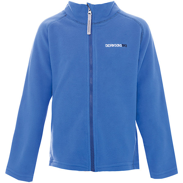 Куртка MONTE  DIDRIKSONS для мальчикаФлис и термобелье<br>Характеристики товара:<br><br>• цвет: синий<br>• состав ткани: 100% полиэстер (флис)<br>• утеплитель: нет<br>• сезон: демисезон<br>• теплоизоляционная<br>• застежка: молния<br>• страна бренда: Швеция<br>• страна изготовитель: Китай<br><br>Мягкая детская куртка может надеваться под верхнюю одежду для дополнительного утепления. Флисовая детская куртка легко надевается благодаря молнии. Такая куртка для ребенка отличается комфортной посадкой. Детская куртка обладает хорошими теплоизоляционными свойствами. <br><br>Куртку для мальчика Monte Didriksons (Дидриксонс) можно купить в нашем интернет-магазине.<br>Ширина мм: 356; Глубина мм: 10; Высота мм: 245; Вес г: 519; Цвет: голубой; Возраст от месяцев: 12; Возраст до месяцев: 15; Пол: Мужской; Возраст: Детский; Размер: 80,140,130,120,110,100,90; SKU: 7045037;