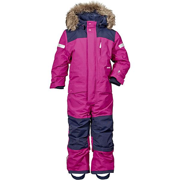 Комбинезон BJORNEN  DIDRIKSONS для девочкиВерхняя одежда<br>Характеристики товара:<br><br>• цвет: сиреневый<br>• состав ткани: 100% полиэстер<br>• подкладка: 100% полиэстер<br>• утеплитель: 100% полиэстер<br>• сезон: зима<br>• мембранное покрытие<br>• температурный режим: от -20 до 0<br>• водонепроницаемость: 10000 мм <br>• паропроницаемость: 4000 г/м2<br>• плотность утеплителя: 180 г/м2<br>• швы проклеены<br>• съемный капюшон<br>• съемный искусственный мех на капюшоне<br>• регулируемый капюшон, талия, рукава и ширина штанин<br>• внутренние эластичные манжеты с отверстием для большого пальца<br>• снежные гетры<br>• крепления для перчаток и ботинок<br>• светоотражающие детали<br>• застежка: молния, кнопки<br>• штрипки<br>• конструкция позволяет увеличить длину рукава и штанин на один размер<br>• страна бренда: Швеция<br>• страна изготовитель: Китай<br><br>Мембранный теплый комбинезон для ребенка дополнен удобным капюшоном, планкой от ветра и карманами. Плотный верх детского зимнего комбинезона не промокает и не продувается, его легко чистить. Мембранный детский комбинезон отлично подойдет для зимних морозов. Мягкая подкладка детского комбинезона делает его очень комфортной. <br><br>Комбинезон для девочки Bjornen Didriksons (Дидриксонс) можно купить в нашем интернет-магазине.<br>Ширина мм: 356; Глубина мм: 10; Высота мм: 245; Вес г: 519; Цвет: фиолетовый; Возраст от месяцев: 18; Возраст до месяцев: 24; Пол: Женский; Возраст: Детский; Размер: 90,140,130,120,110,100; SKU: 7045423;