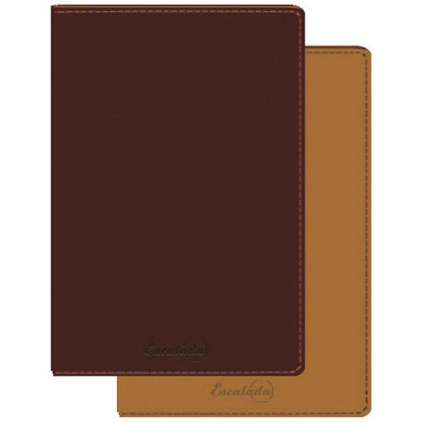 Феникс+ Записная книга 2 в 1Феникс+, коричнево-оранжевый книга 84 2 2