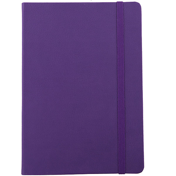 Феникс+ Записная книга на резинке Феникс+, фиолетовый феникс книга счастье маленького ежика
