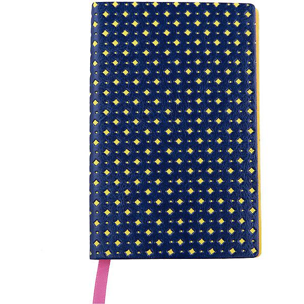 Феникс+ Записная книжка Феникс+, синий/желтый феникс мешок для обуви феникс дизель синий