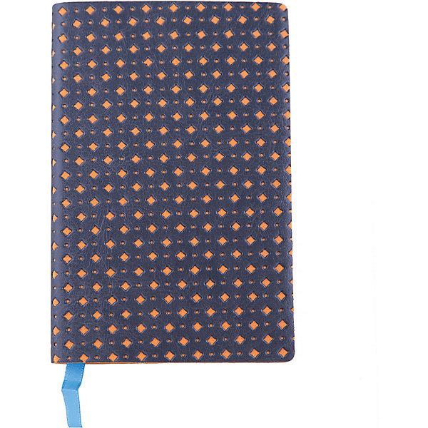 Феникс+ Записная книжка Феникс+, серый/оранжевый