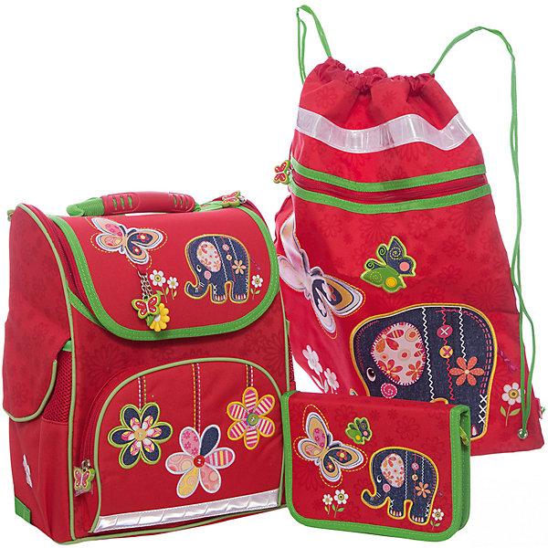 Феникс+ Набор для школьницы Слоник Феникс+ феникс мешок для обуви леопард в цветах