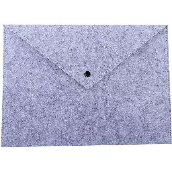 Феникс+ Папка для документов Феникс+, серая конверт феникс мешок для обуви феникс дизель синий