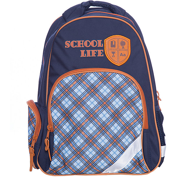 Феникс+ Рюкзак школьный Шотландка
